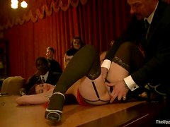 Kinky bitches get humiliated at Thanksgiving dinner