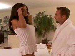 OIled up sex with a gorgeous and sassy massage therapist