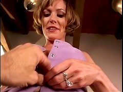 Delicious milf is going to have so much fun on a hard one