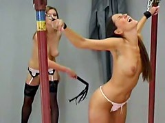 Two kinky lesbians are here to have fetish sex