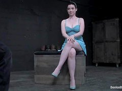 Hot slut Sybil Hawthorne enjoys being tied up and tortured