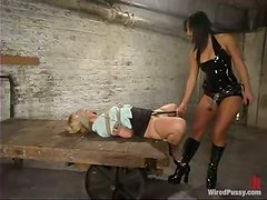 Angelene Black gets humiliated and tormented in BDSM scene