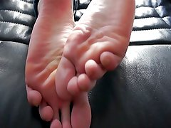 My girlfriends feet soles