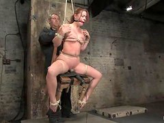 Sexy Sarah Blake gets tortured and toyed by Isis Love