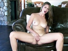 Shae Snow is horny as hell and fucks her
