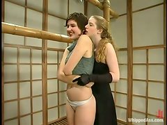 FemDom Lesbians Get Kinky When They Meet In Person!