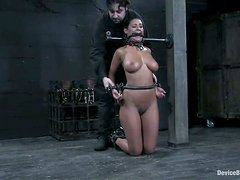 Wild Tit Torture and Bondage Fun with Blonde Charley Chase