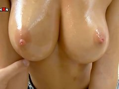 Bryana gets her sweet smooth pussy toyed and fingered
