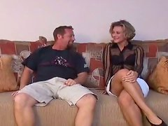 Cock Hungry Mom Gets Fucked In The Living Room