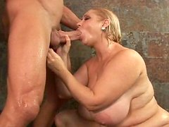 Billy Glide fuck with very fat Samantha g