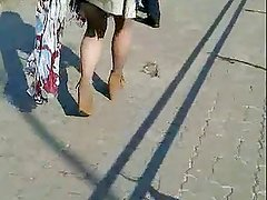 Candid #17 Woman with sexy legs