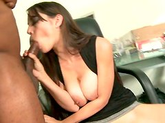 Excited oral sex with big muscle black man ant tattooed bitch