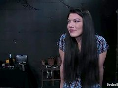 This petite siren loves, when her master does some painful things to her