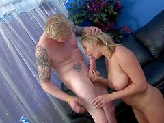 Lusty turned on amateur blonde teen with big jaw dropping