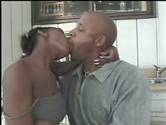 Ebony With Hot Natural Tits Gets Hardcore Fucked By Neighbor