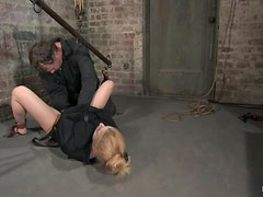 Tawni Ryden gets clothespinned and toyed in BDSM video