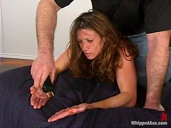 Kym Wilde gets punished for being so wicked in stunning BDSM scene