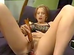Solo video with hot Katja toying herself with an electric dildo