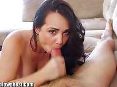 MommyBB Busty Mature MILF blows boy for discount