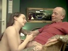 Old boy-friend and his female fuck buddy