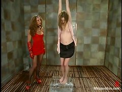 Keiko gets whipped by Kym Wilde and enjoys it a lot