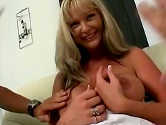Alison Is A MILF With Big Fake Tits Who Adores Big Cocks