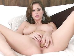 Emily Addison shows it all as