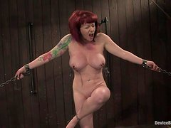 Redhead Mature lady Kylie wants to be abused like before