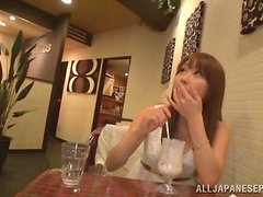 Busty Shunka Ayami enjoys a hard fucking with a old man.