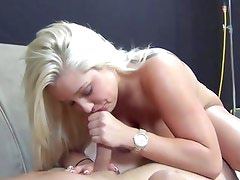 Dayna Vendetta drools over this hard throbbing cock