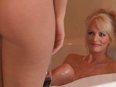 Sexy and Horny Lesbians Enjoy Their Bath Time Immensely