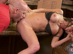 Veronica Avluv Handles Two Feet of Cock and Begs for More!