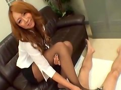 Chinese gives Hot Erotic foot job