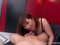 You are going to experience a real hot Japanese blowjob