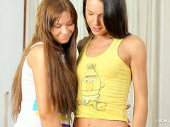 We got some very hot girl on girl lesbian sex with anal, fingering and lots of pussy play