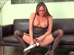 Toys fill the cunt of pornstar Tory Lane