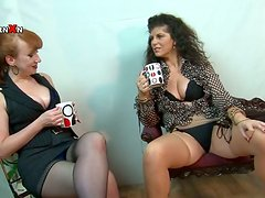 Hot Fisting MILFs in Lingerie Having a Great Lesbian Time