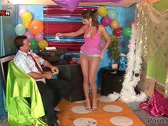 Birthday Party Pissing and Hardcore Fun for Horny Nasty Babe