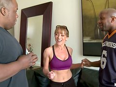 Sex hungry Shayla Laveaux gets rammed by Black guy