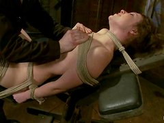 Petite Seda gets tortured and toyed in hot bondage video