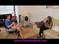 Casting Couch Girls Don't Expect Lesbian Fingerfuck!