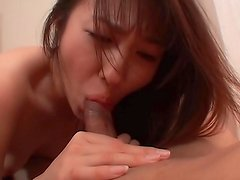 Sexy Japanese cock riding porn