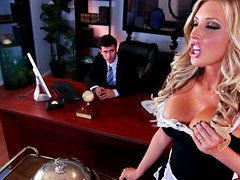 Busty Maid Gets Fucked Hard By Her Boss In His Office