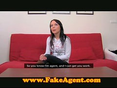 Small Titted Slut Auditions For Job On The Casting Couch