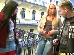 Super Sexy Euro Foursome Goes at it Hot and Hard Swapping Juices!