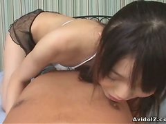Delicious Asian Chick Gives A Marvelous Blowjob In POV