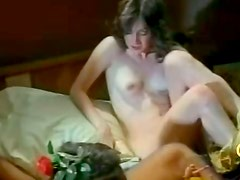 Juicy dark haired MILF sucks dick in flying 69 position