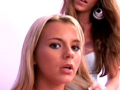 Kayla Page is sukcing shaved pussie of  Bree Olson
