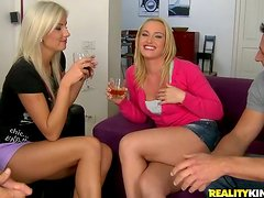 This Super Hot Euro Groupsex gets Wild and Balls Out Crazy!