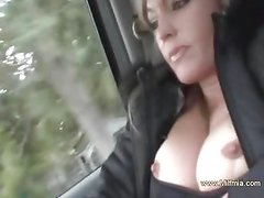 Squirting MILF Makes Happy Time